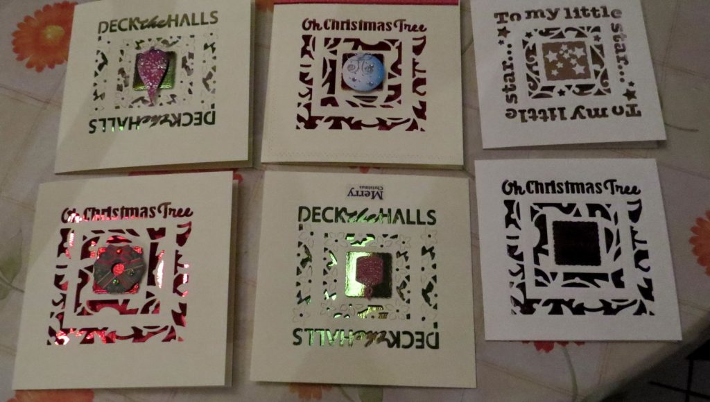 Christmas cards Nov 2017
