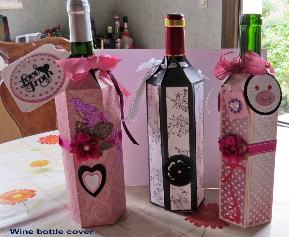 Wine bottle cover 2016