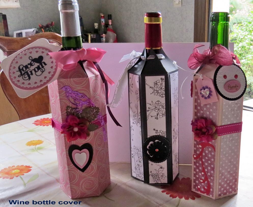 Wine bottle cover 2016